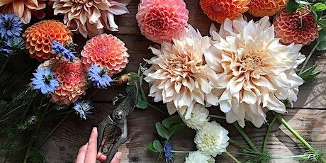 Flower Arranging: Create a Seasonal Hand-tied Bouquet tickets