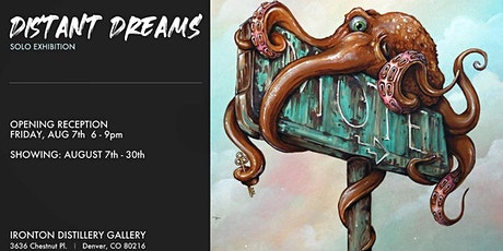 "Patrick Maxcy ""Distant Dreams"" Closing Reception tickets"