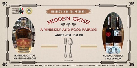 Hidden Gems, Whiskey & Food Pairing tickets
