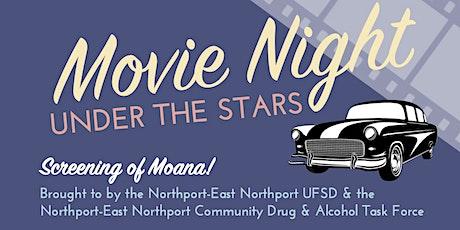 Movie Night Under the Stars! Screening of MOANA tickets