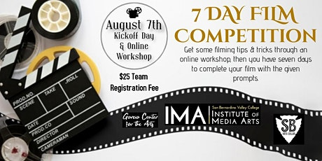 7 Day Film Competition Tickets