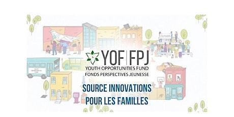 Source Innovations pour les familles - Séances d'encadrement en groupe billets