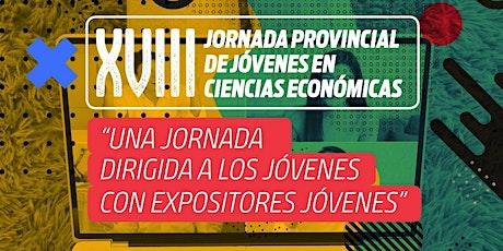 XVIII JORNADA PROVINCIAL DE JÓVENES PROFESIONALES EN CIENCIAS ECONÓMICAS entradas