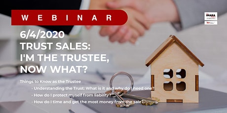 Trust Sales: I am the Trustee, Now What? w/Richard & Tory tickets