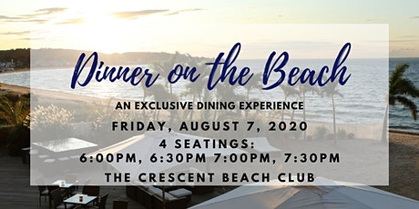 Dinner on the Beach (Friday 8/7) tickets