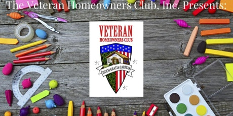 Veteran Homeowners Club 4th Annual Backpack giveaway tickets