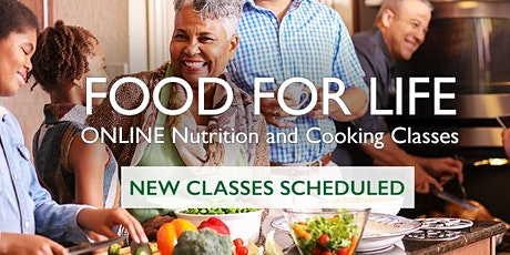 Cooking to Combat COVID-19 - Class 3 - Healthy Blood Pressure tickets