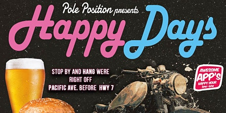 Pole Position Presents Happy Days tickets