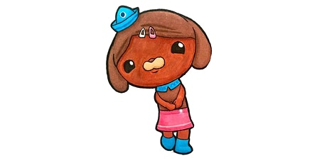 30min How to Draw The Octonauts - Dashi The Dog @11AM (Ages 4+) tickets