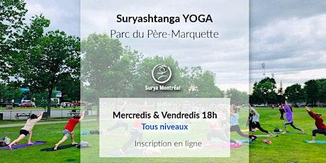 Yoga au Parc du Père-Marquette, mercredi & vendredi (tous niveaux) tickets