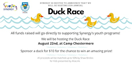 Synergy's 2020 Duck Sales tickets