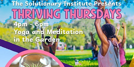 Thriving Thursdays tickets