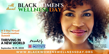 12th Annual Black Women's Wellness Day tickets