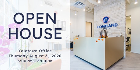 HomeLand Realty Yaletown Office OPEN HOUSE tickets