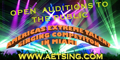 AMERICAS EXTREME TALENT SHOW SINGING COMPETITION tickets