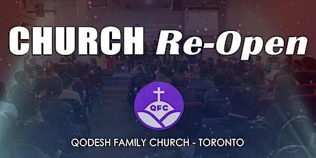 QFC Toronto - Sunday Service/August 9, 2020 tickets