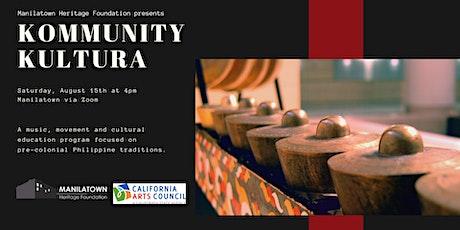 Kommunity Kultura presents Ethnomusicologist Dr. Bernard Ellorin tickets