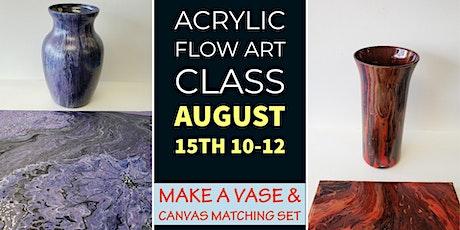Flow Art Paint Class tickets