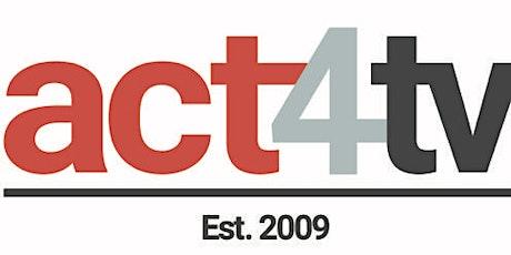 act4tv - Thursday Leeds  Online Weekly Class for Regular Attendees tickets