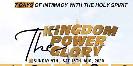 7 DAYS OF INTIMACY WITH THE HOLY SPIRIT tickets