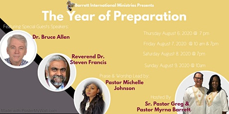 The Year of Preparation tickets