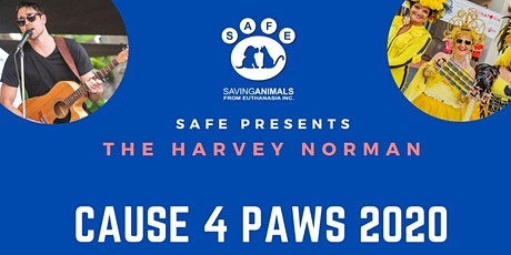 Harvey Norman Cause 4 Paws 2020 tickets
