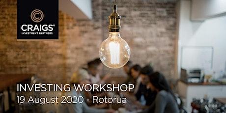 Investing Workshop - Rotorua tickets