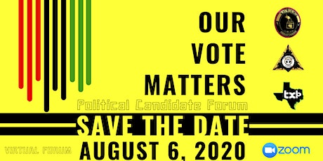 Our Vote Matters 2020 tickets