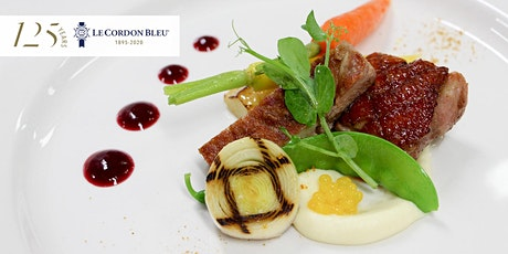 3 Course Lunch on Wednesday 26th August 2020 at Le Cordon Bleu tickets