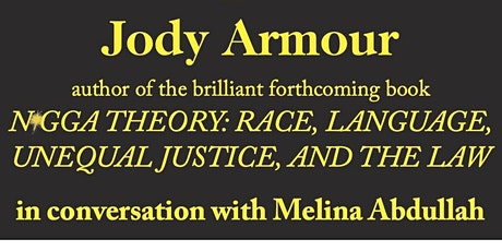 Jody Armour on Racial Oppression in America tickets