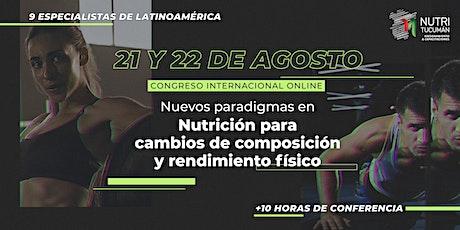 Congreso Internacional Online de Nutrición - SOLO ARGENTINA entradas