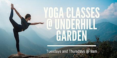 Yoga @ Underhill Garden tickets
