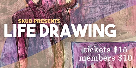 SKUB Life Drawing 2020 tickets