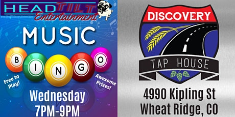 Music Bingo at Discovery Tap House- Wheat Ridge, CO tickets