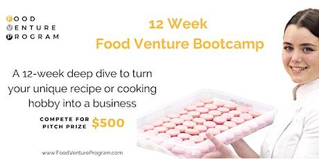 12-Week Food Venture Bootcamp tickets