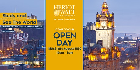 Heriot-Watt University Malaysia's Open Day and Virtual Appointments tickets