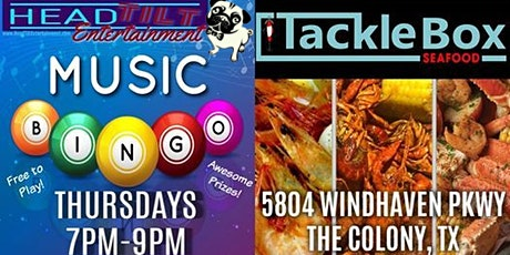 Music Bingo at The Tackle Box Seafood tickets