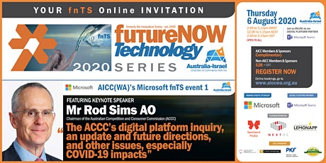 AICC(WA)'s Microsoft FutureNow Technology Series - Event 1 tickets