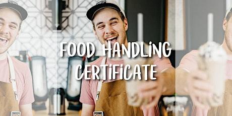 Food Handling Certificate Online tickets