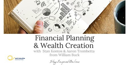 Masterclass Series | Financial Planning & Wealth Creation tickets