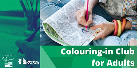 Colouring-in Club for Adults tickets