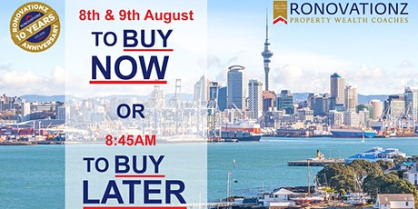 The Ronovationz Breakfast: To Buy Now or To Buy Later? tickets