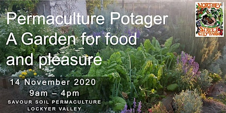 The Permaculture Potager - A Garden for Food and Pleasure tickets