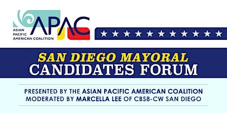 APAC Presents San Diego Mayoral Candidates Forum tickets