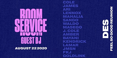 HIDE + SEEK presents Room Service Aug 22 - GUEST DJ DJ tickets