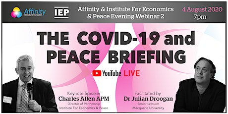 The COVID-19 and Peace Briefing tickets