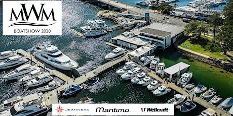 MW Marine Jeanneau, Maritimo & Wellcraft Boatshow 2020 tickets