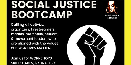 Social Justice Bootcamp tickets