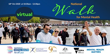 Virtual Walk for Mental Health - Melbourne tickets