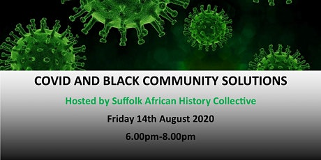 COVID and Black Community Solutions tickets